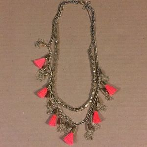 Grenada Tassel Necklace